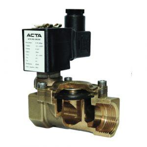 Особенности конструкции электромагнитного (соленоидного) клапана для пара и горячей воды