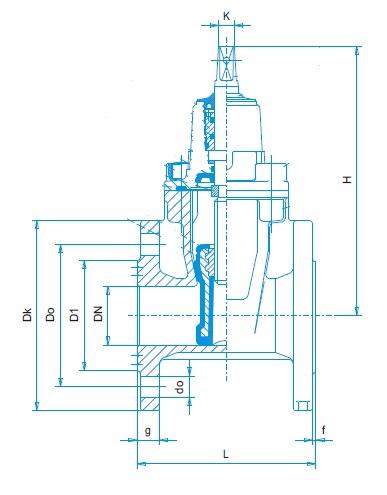 Zetkama 111D-razmer