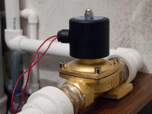 Применение электромагнитного клапана