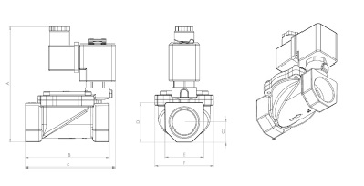 соленоидные клапаны для компрессорных установок