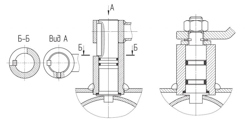 уплотнение газовых кранов LD